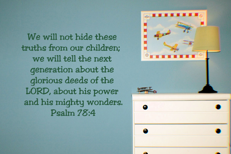 We Will Not Hide Wall Decal