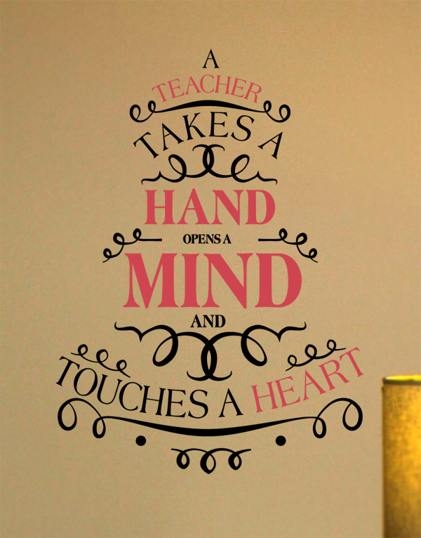 Touches A Heart II Wall Decal