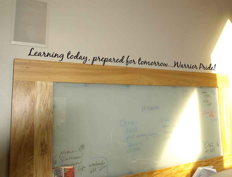 Learning Today Wall Decal