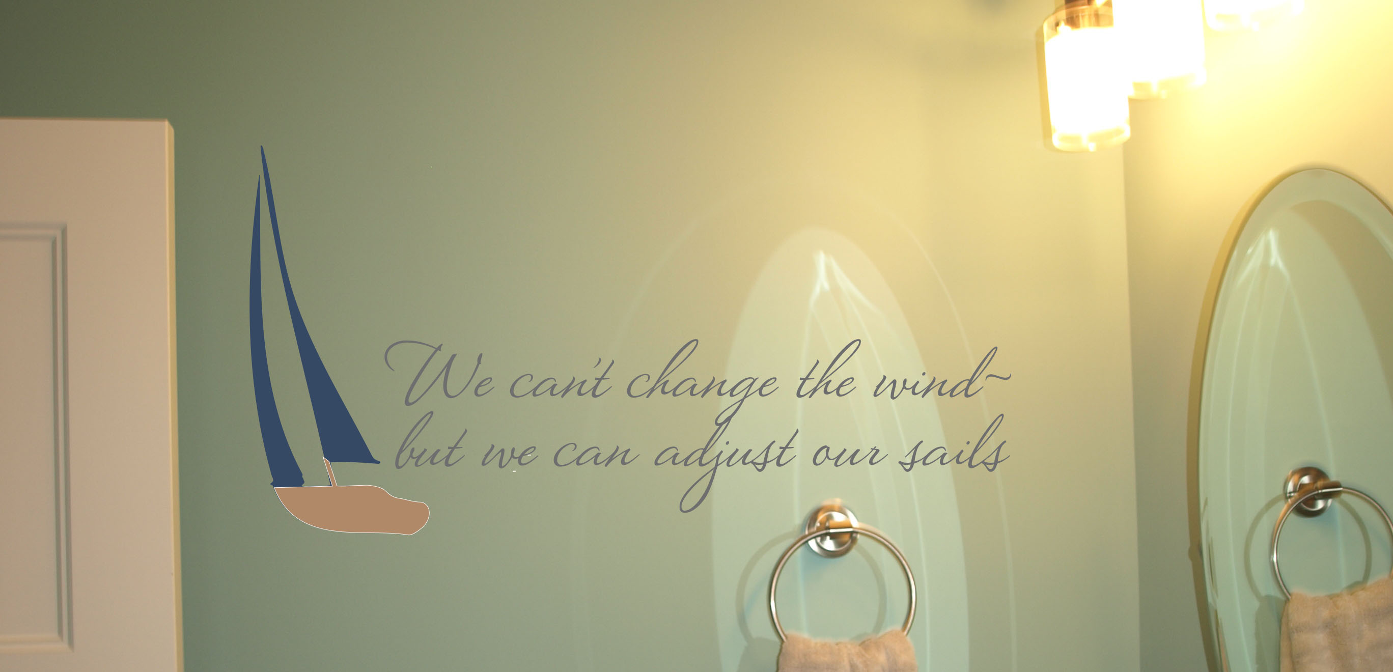 Adjust Our Sails Wall Decal