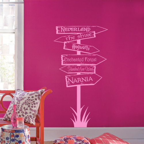 Storybook Locations Wall Decal