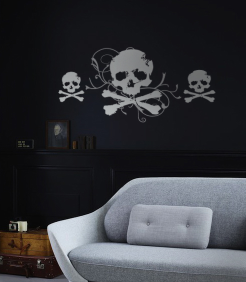 Jolly Roger And Minis Wall Decal