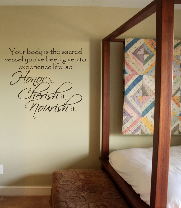 Sacred Vessel Wall Decal