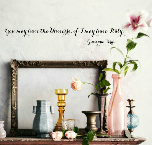 If I Can Have Italy Wall Decal