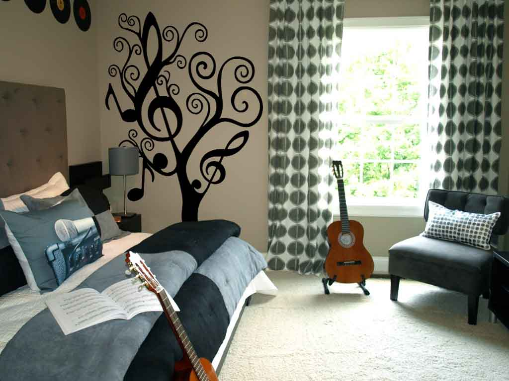 Music Tree Large Wall Decal
