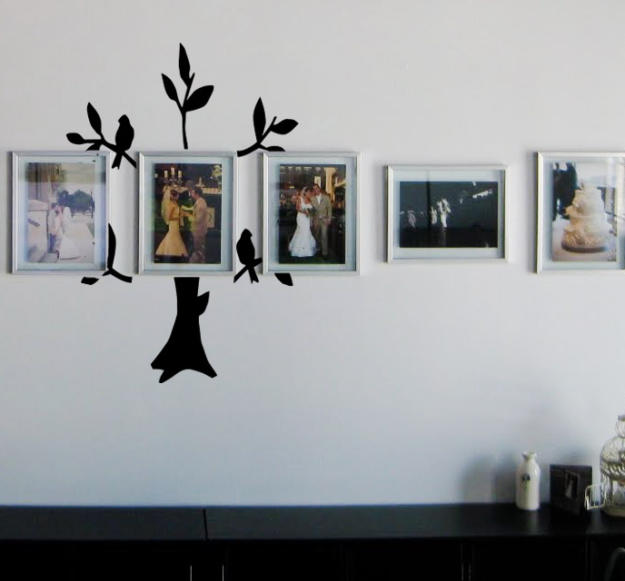 Family Frame Tree Wall Decal