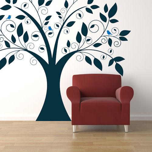 Cute Tree Giant Wall Decal