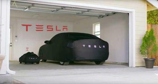 Tesla Name Decal