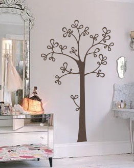 Tree Without Leaves Wall Decal