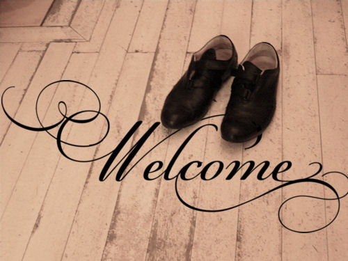 Welcome Simply Words Wall Decal