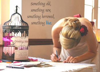 Something Blue Wall Decal