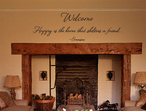 Welcome Emerson Wall Decal