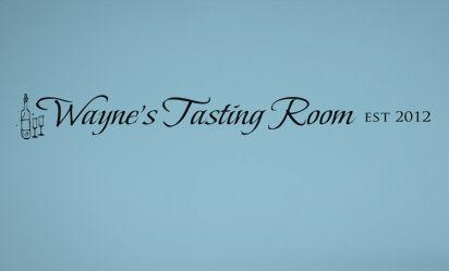 Tasting Room Est Wall Decals