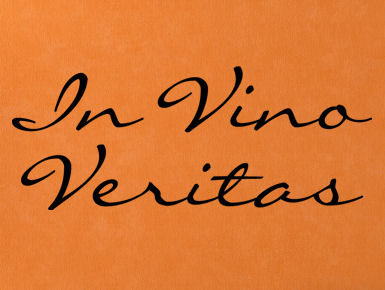 Vino Veritas II Wall Decal