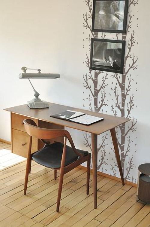 Trees Wall Runner Decal