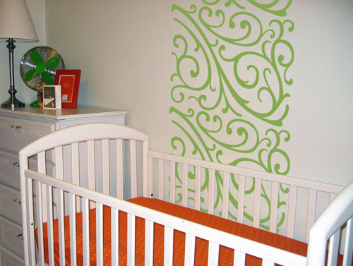 Swirls Wall Runner Decal