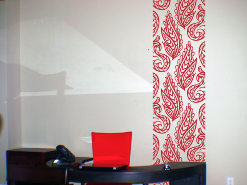 Funky Fronds Wall Runner Decal