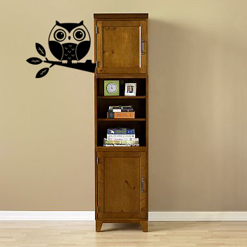 Cute Baby Owl Wall Decal