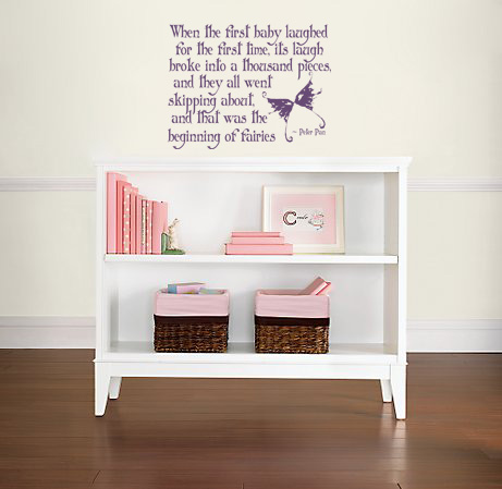 When The First Baby Laughed Wall Decal