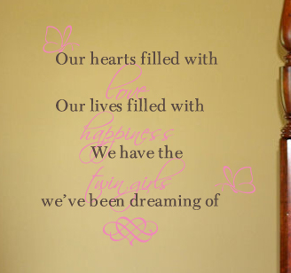 Our Hearts Wall Decals