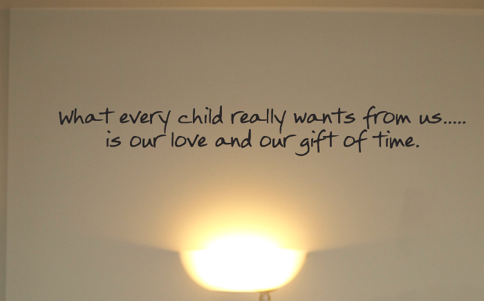 Every Child Really Wants Wall Decals