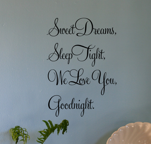 Sweet Dreams | Wall Decals