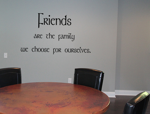 Friends Family | Wall Decals