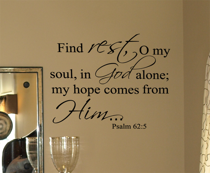 Psalm 625 Wall Decals
