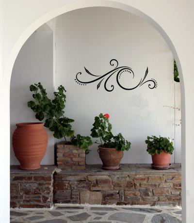 Fancy Embellishment VII Wall Decal