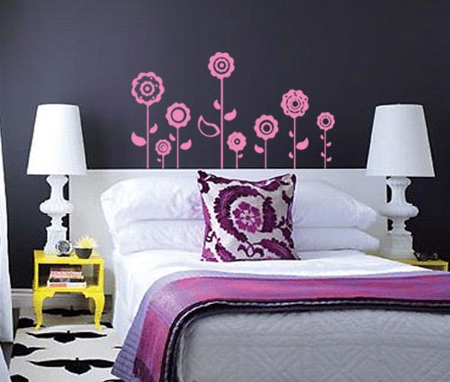 Vintage Flowers Wall Decal