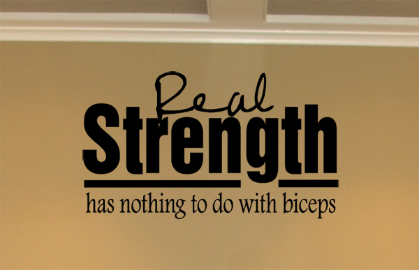 Real Strength Wall Decals