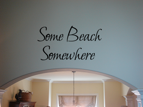 Some Beach Wall Decals Trading Phrases