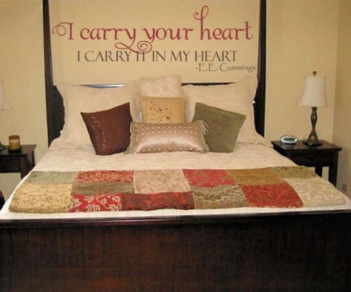 Carry Your Heart Wall Decal