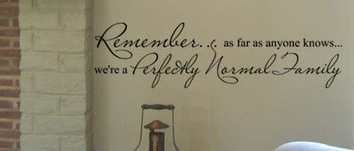 Remember Family Wall Decal