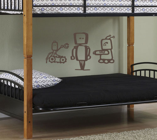Robot Pack Wall Decal