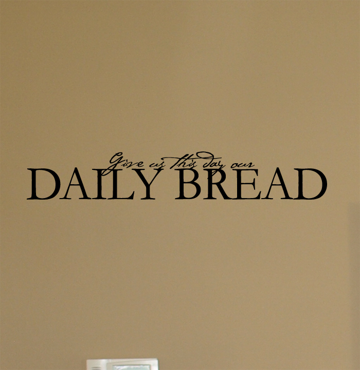 Daily Bread Wall Decals