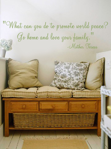 Love Your Family Wall Decal