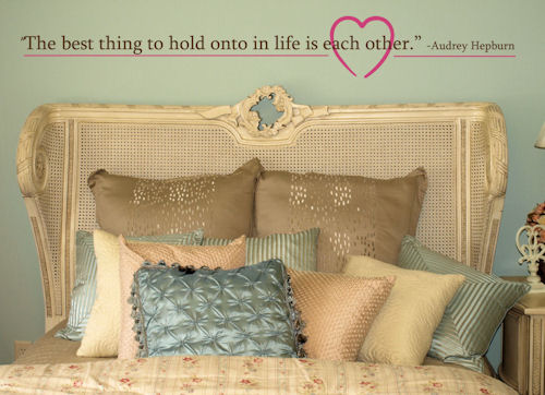 Best Thing To Hold Each Other Wall Decals