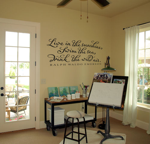 Live Sunshine Wall Decals