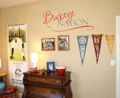 Football Nation Wall Decal