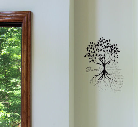 Like Branches On a Tree Family Tree Wall Decal