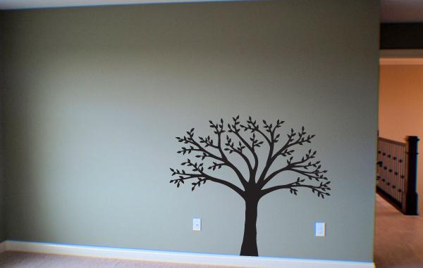 Leafy Tree Wall Decal