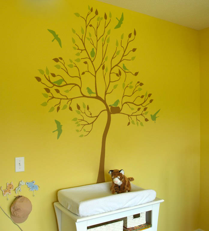 Nest Tree Decal