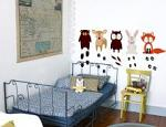 Woodland Creatures Printed Decal
