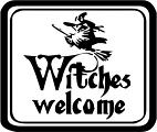 Witches Welcome | Halloween Decals