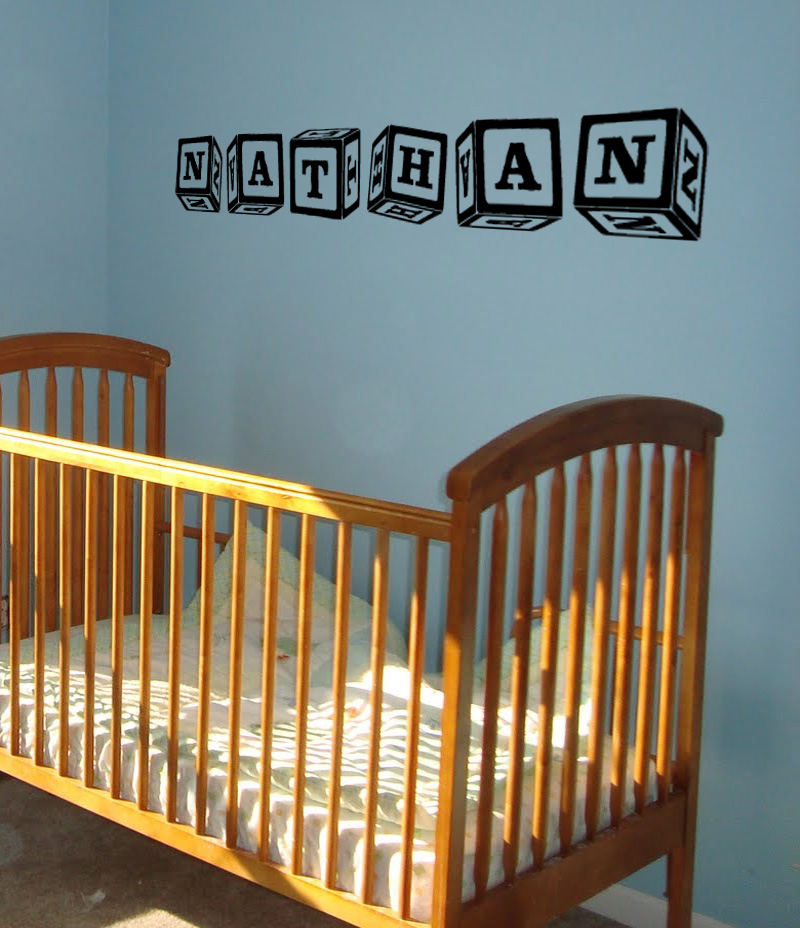 Baby Blocks Wall Decal
