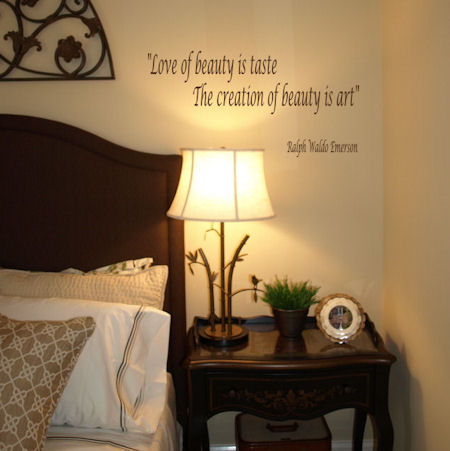 Love Of Beauty Creation Of Beauty Wall Decals