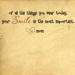 Smile Most Important | Wall Decals