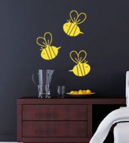 Bees Wall Decal