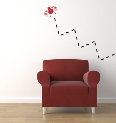 Ladybug Wall Decal
